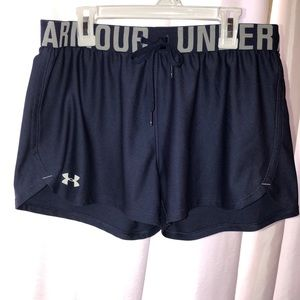 UA Running HG shorts Dark blue women's sz XS